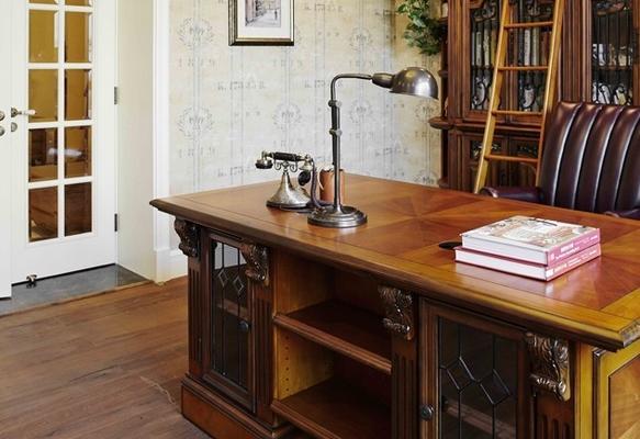 清新精美小美式风格卧室设计装修效果图