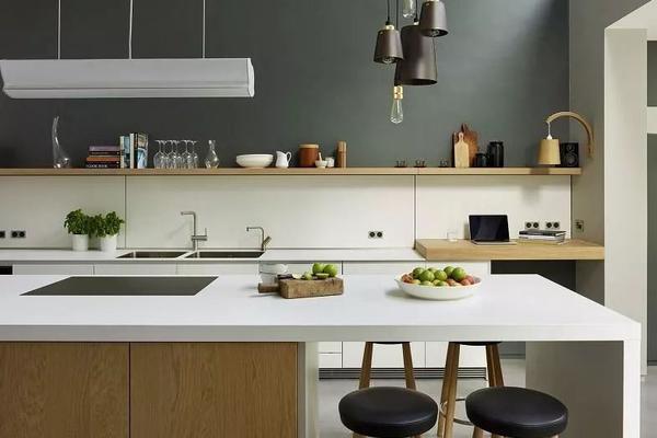 东营装修公司为大家带来30个厨房吧台设计方案