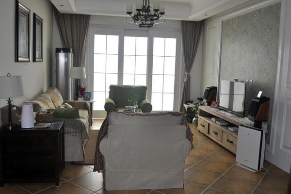 獨具特色美式風格樣板房裝修效果圖