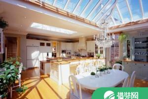 厨房天窗装修效果图,这样的装修让做饭也有好心情!