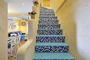 地中海風格樓梯裝修效果圖,享受地中海海島的異域情調!