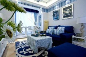 地中海风格客厅怎么装修阳台?让我们一起来学习一下!
