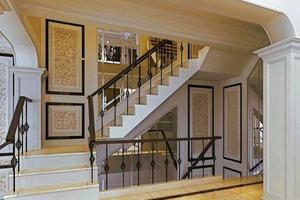 别墅楼梯安装在屋里哪里最合适?来看看应该如何安装!