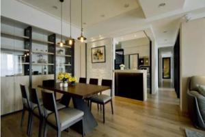 现代时尚风格酒柜装修效果图,让餐厅拥有高档酒店感!