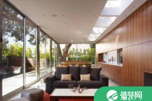 客厅天窗装修效果图,让客厅充满阳光的明媚!