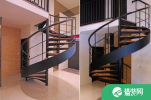 墻角裝修旋轉樓梯多少錢?旋轉樓梯好不好呢?