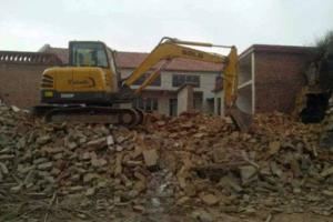 旧房拆除收费怎么算?拆除旧房的注意事项介绍!