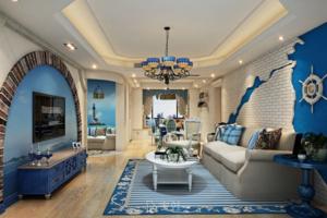 2020地中海风格客厅装修图片大全 地中海风格客厅装修效果图欣赏