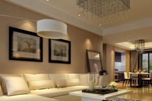 客厅字画离地面多高?客厅挂画最适宜的高度推荐给您!