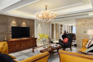 2019美式客厅装修实景图大全 美式客厅装修效果图欣赏