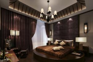 东南亚风格卧室装修效果图 东南亚风格卧室装修设计图