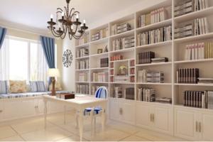 书房设计有什么需要注意的地方?这些让你的书房实用又美观!