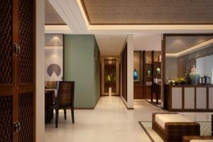 最新东南亚风格走廊装修效果图 东南亚风格走廊装修设计图大全