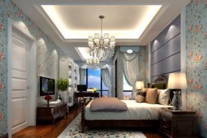 2019美式卧室装修搭配图 美式卧室装修设计图大全