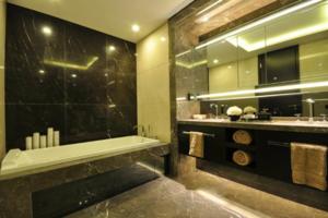 最新古典浴室柜装修效果图 古典浴室柜装修设计图片大全