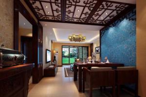 2019东南亚风格餐厅装修效果图欣赏 东南亚风格餐厅装修设计图大全