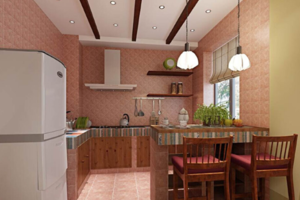 最新美式厨房装修效果图片欣赏 美式厨房装修设计图大全