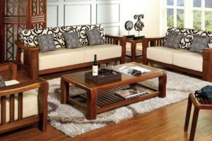2020实木沙发装修效果图大全 实木沙发装修设计图