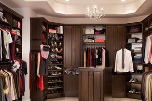 美式风格衣帽间如何设计?这样设计才是美式风格!