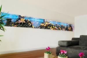 最新壁挂式鱼缸装修效果图 壁挂式鱼缸图片大全