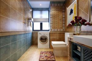 2020卫生间地砖装修效果图 卫生间地砖装修设计图大全